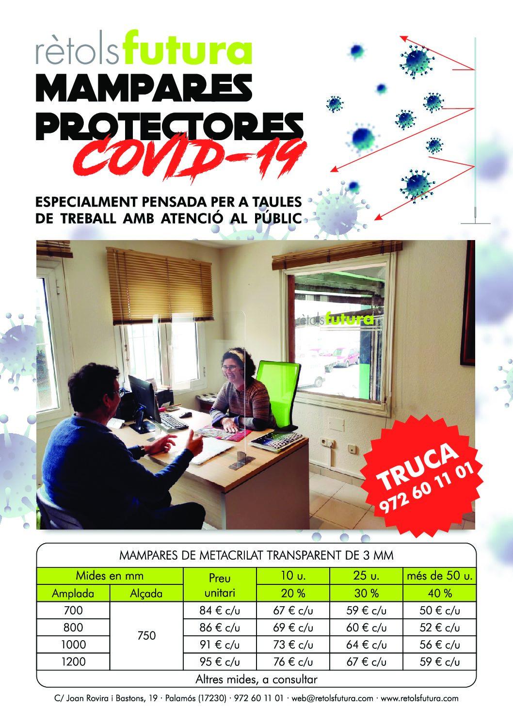 Mampares Protectores Covid19