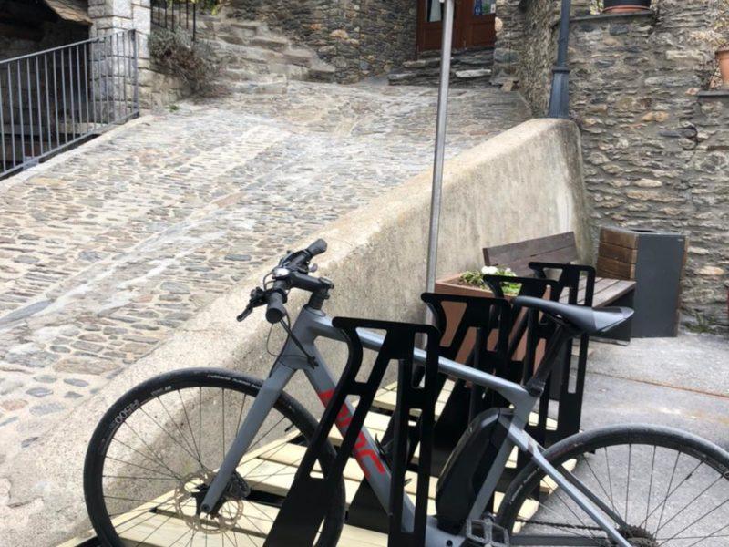 Ordino (Andorra) – Aparcament per a bicicletes